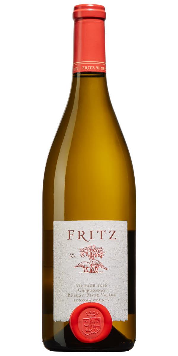 Fritz Russian River Valley Chardonnay, Vin, Vitt Vin