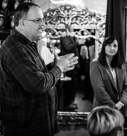 Vinmakaren Dave Nagengast och Gaby Marble