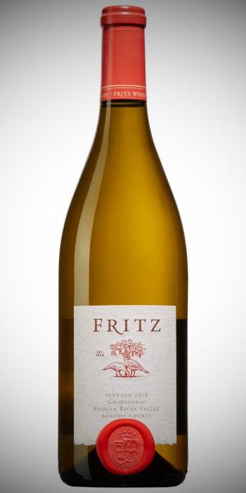 en flaska Fritz Chardonnay