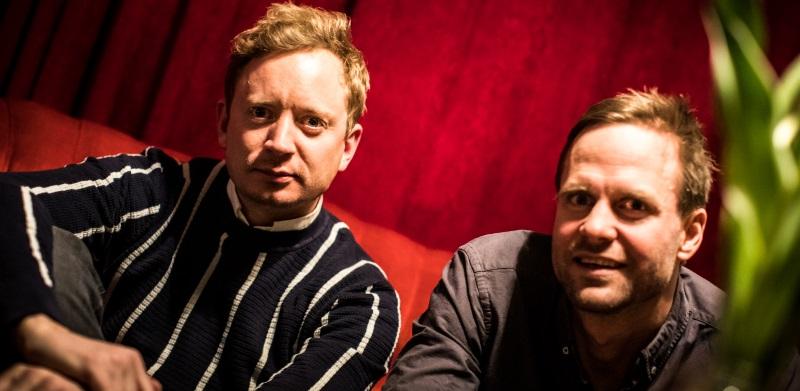 Simon Källquist och Calle Nilsson kunde pusta ut