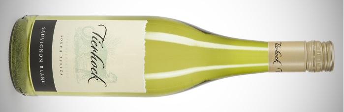 en flaska Tierhoek Sauvignon Blanc