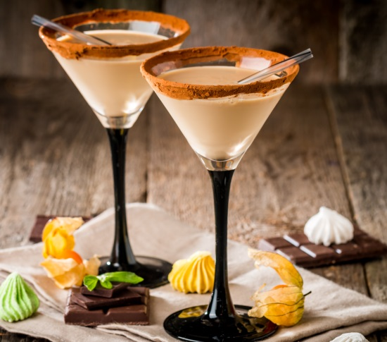 martini gjord på likören