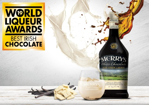Irish white chocolate cream liqueur