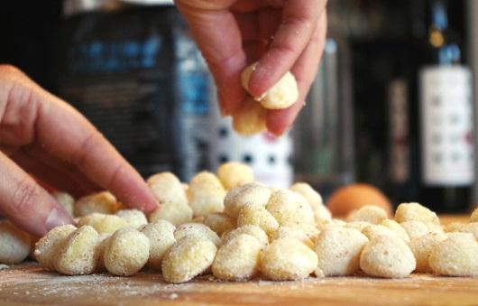 Chianti: här görs det gnocchi