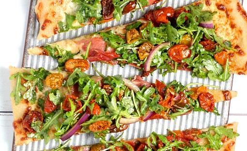 pizza bitar läckra