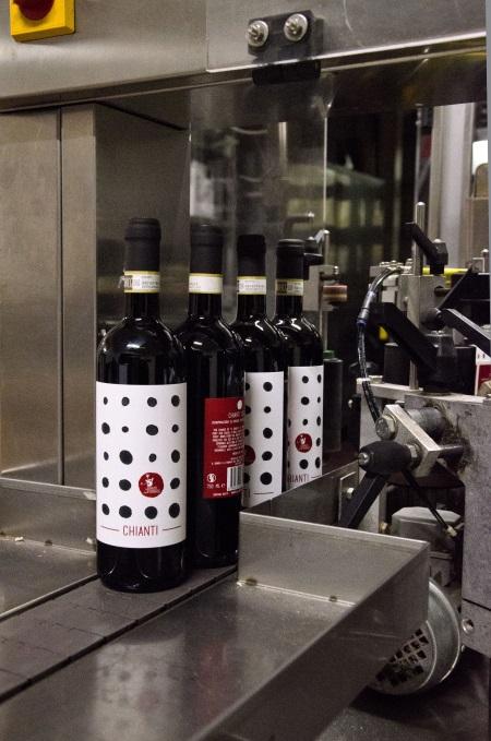 Chianti: Den moderna produktionsanläggningen hos Il Drago e la Fornace