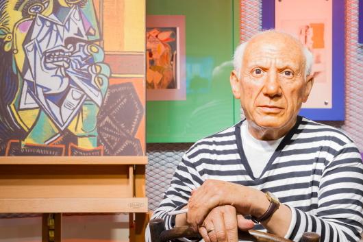 Señorio de Broches: bild på Picasso