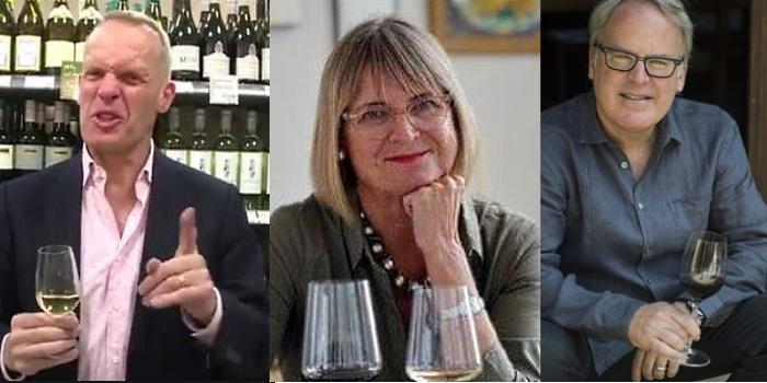 Tre kända vinkritiker
