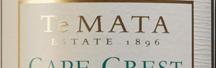 Te Mata Cape Crest Sauvignon Blanc 2019