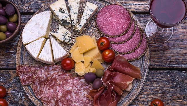 spansk ostbricka